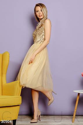 Вечернее Платье женское с пайеткой, фото 2
