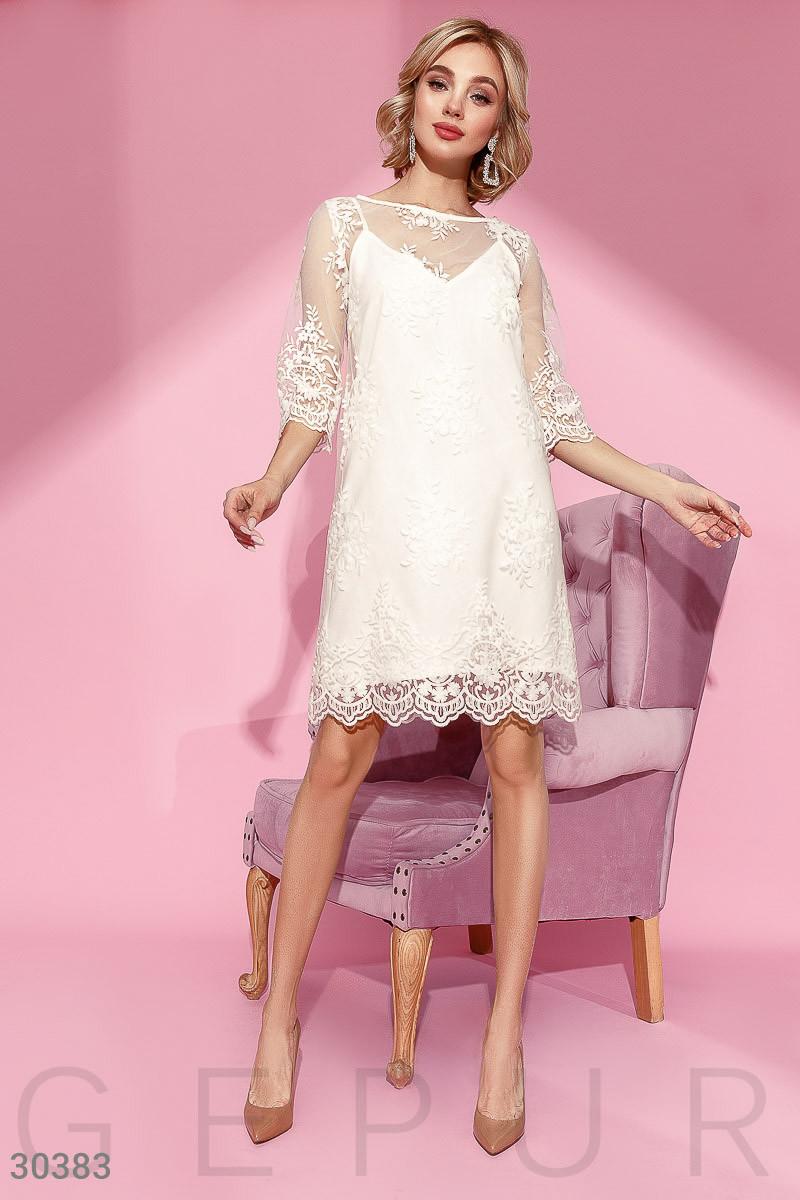 Трендовое Платье женское-сетка
