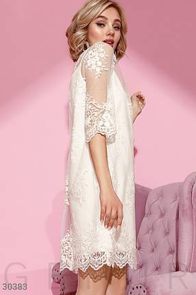 Трендовое Платье женское-сетка, фото 2