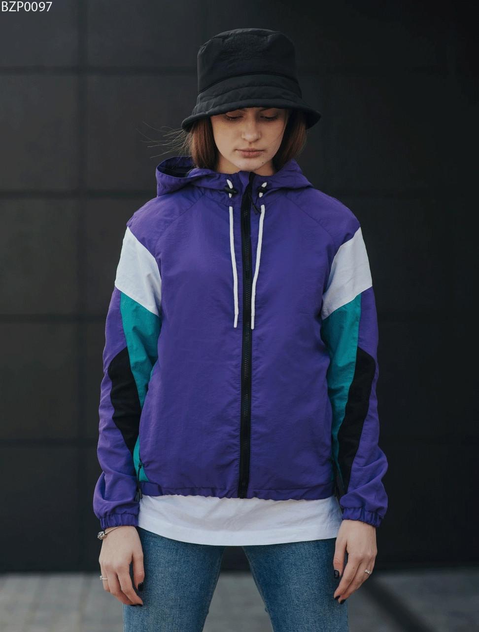Женская ветровка Staff total purple