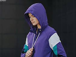 Женская ветровка Staff total purple, фото 3