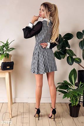 Сдержанное короткое Платье женское, фото 2