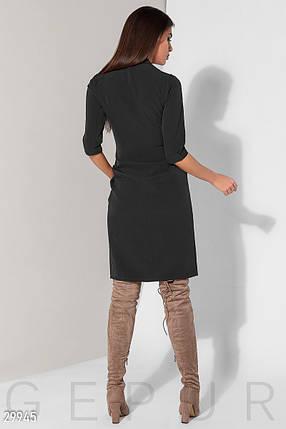 Деловое Платье женское на запа́х, фото 2
