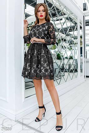Воздушное Платье женское с декором, фото 2