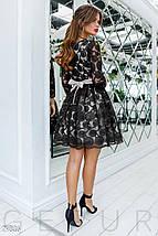 Воздушное Платье женское с декором, фото 3