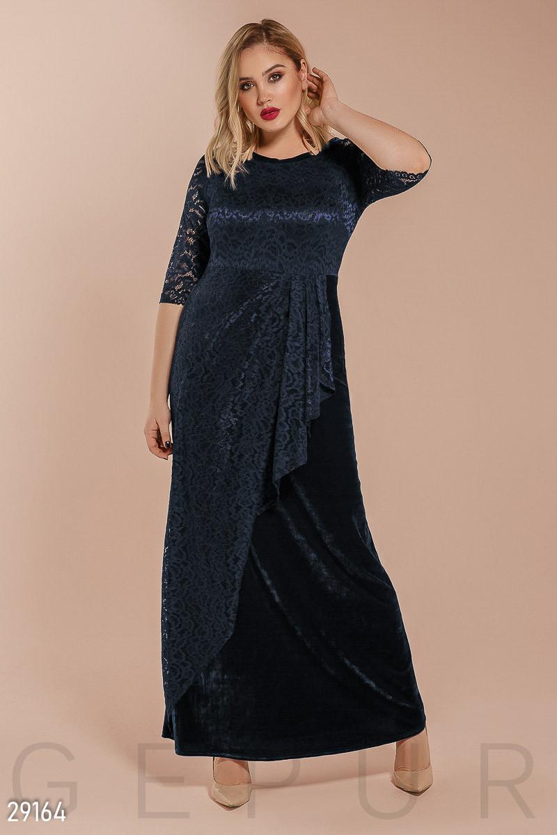 Платье женское с драпировкой