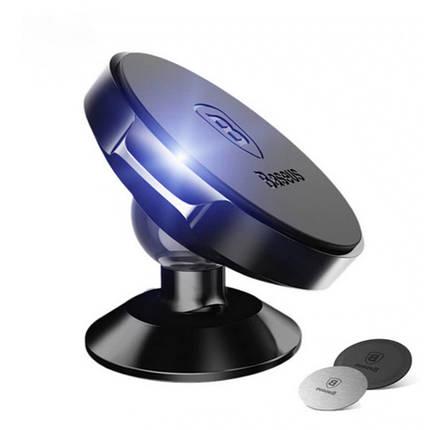 Магнитный автодержатель Baseus Small Ears Series Magnetic Bracket SUER-С/B01, фото 2