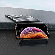 Антискользящий складной коврик для телефона Baseus Folding Bracket Antiskid Pad SUWNT-01 (Черный), фото 3