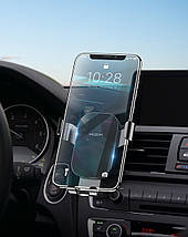 Универсальный автомобильный держатель для смартфона Rock Magnetic Air Vent (Черный), фото 3