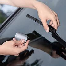 Восстановитель (Очиститель) автомобильных дворников Baseus Rain Wing Wiper Repairer CRXFQ-0A (Серебристый), фото 3