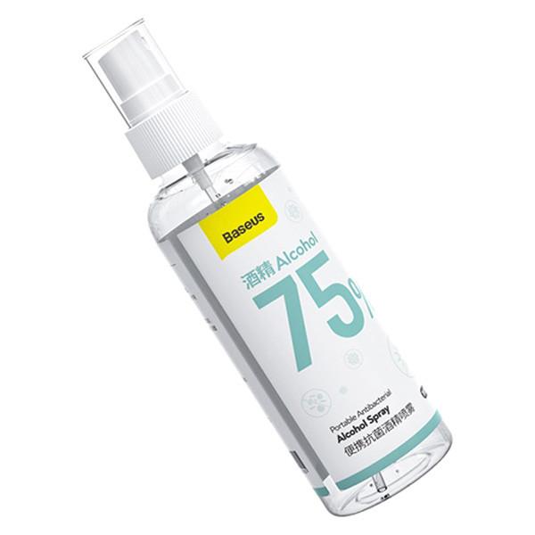 Антибактериальный спрей Baseus Portable Antibacterial Spray ACPW-A (120ml, 75% Alcohol)