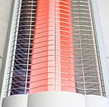 Инфракрасный обогреватель со стойкой 2 метра (UFO) 2500W VQ2502, УФО напольный обогреватель, фото 2