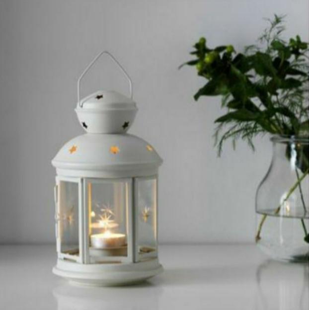 Фонарь IKEA ROTERA для чайной свечи