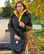 Бананово-оливковое пальто TOWMY TM-AJ-2239, фото 2