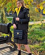 Бананово-оливковое пальто TOWMY TM-AJ-2239, фото 5