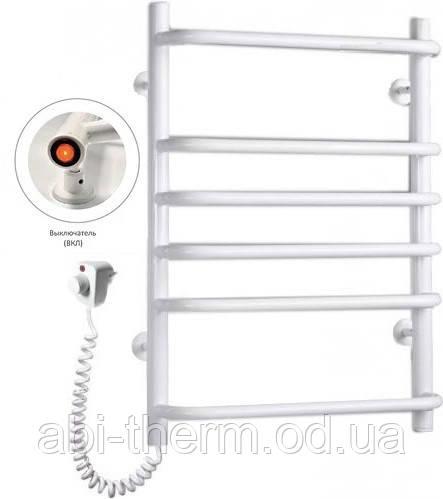Полотенцесушитель Стандарт-6 белый 640x480 (левое подключение)