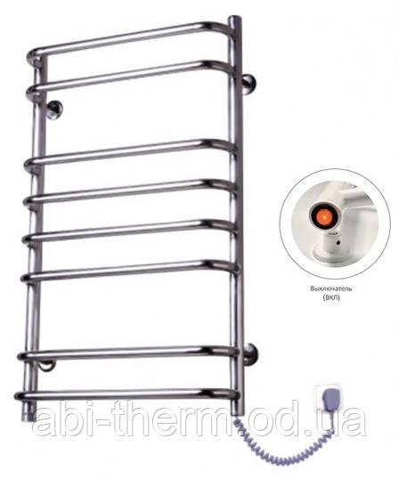 Полотенцесушитель Стандарт-8 800x480 (праве підключення)