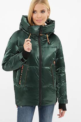Женская зимняя куртка 8100, р-ры 44-50, фото 2