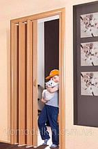 Двери гармошка под любые размеры, Более 24 цветов.  межкомнатные двери гармошка. Двери гармошка ПВХ. Доставка