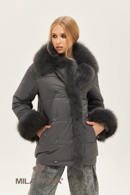 Женская стильная зимняя куртка К-160