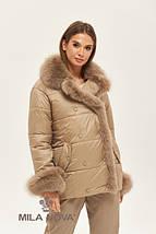 Женская стильная зимняя куртка К-160, фото 3