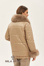 Женская стильная зимняя куртка К-160, фото 2