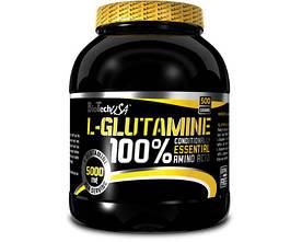 Глютамин BioTech 100% L-Glutamine (500 g)