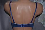 Бюстгальтер YYG спортивный стиль темно синий, фото 4