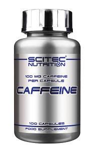 Енергетик Scitec Nutrition Caffeine (100 caps)