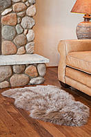 Серо-фиолетовая овчина, прикроватные шкурки из овчины, ковры из овчины, фото 1