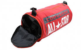 Сумка для спортзала Бочонок CONVERSE с отделением для обуви (красный)