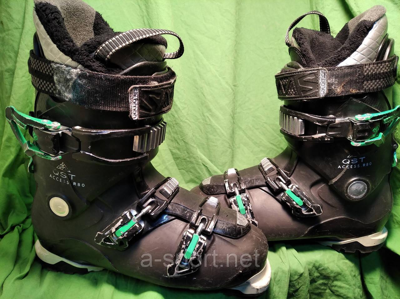 Гірськолижні черевики Salomon QST Access 80 28.5 см