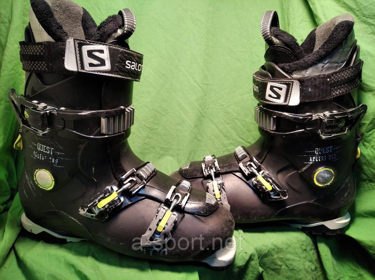 Гірськолижні черевики Salomon QST Access 80 29 см