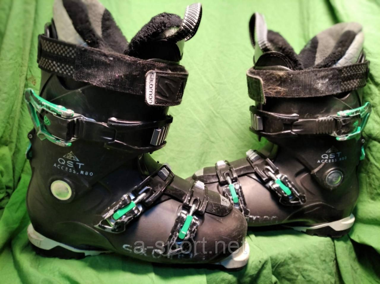 Гірськолижні черевики Salomon QST Access 80 26.5 см