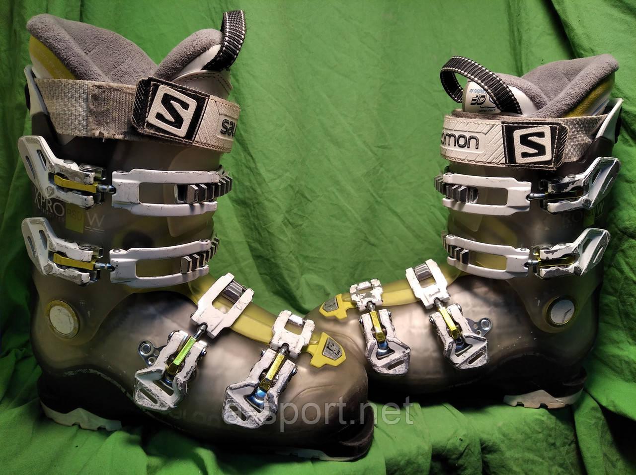Гірськолижні черевики Salomon Xpro r80 25 см