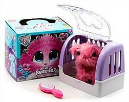 Игрушка Питомец Потеряшка c домиком-переноской, Игрушка сюрприз Няшка Потеряшка, Superb Love DR5008(Pink)