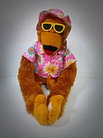 Мягкая игрушка Модная Обезьяна в очках 30 см,