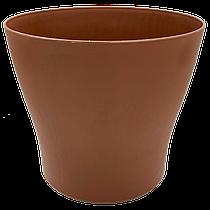 Горшок для цветов Gardenya 21 л коричневый