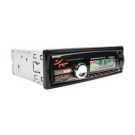 Автомагнітола Pioneer 3215 1Din Usb RGB підсвітка Fm Aux(1 Дін магнитола Пионер)