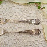 Две английские посеребренные столовые вилки, серебрение, Англия, EPNS WBT, фото 4