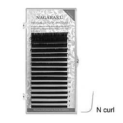 Ресницы Nagaraku (Нагараку) MIX 0.07N (M)