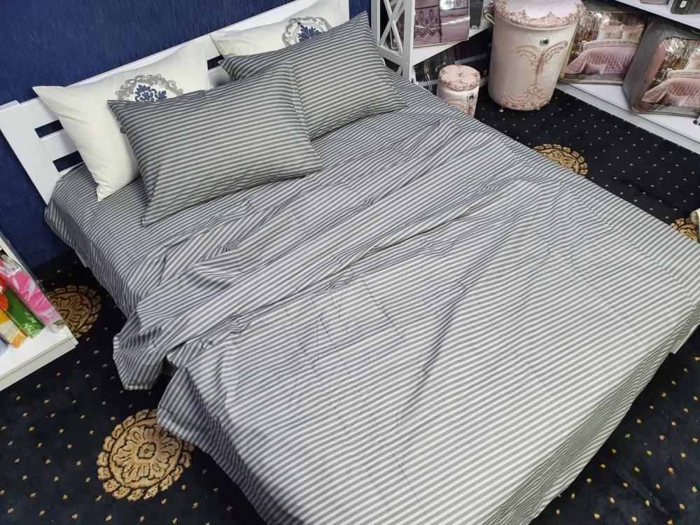 Комплект постільної білизни на кнопках Atelier Romana бязь двоспальний 180*210