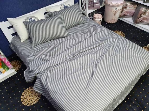 Комплект постільної білизни на кнопках Atelier Romana бязь двоспальний 180*210, фото 2