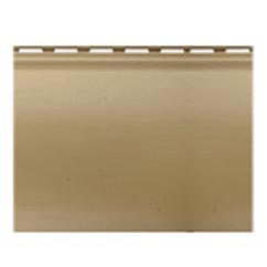 Сайдінг Блок-хаус вініловий однопереломний злотистий 3,1*0,2 м