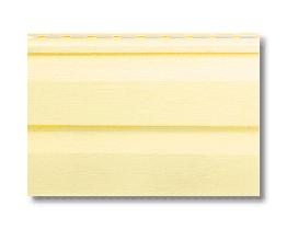Сайдінг вініловий Альта Профіль лимонний S-1м2 3,66*0,23 м