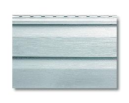 Сайдінг вініловий Альта Профіль світло-сірий S-1м2 3,66*0,23 м