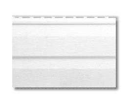 Сайдінг вініловий Альта Профіль білий S-1м2 3,66*0,23 м