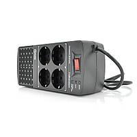 Стабилизатор напряжения релейный Europower EPX-604 600VA 300W, input:184~276V, output:220V±10%, 4 SHUKO, Q