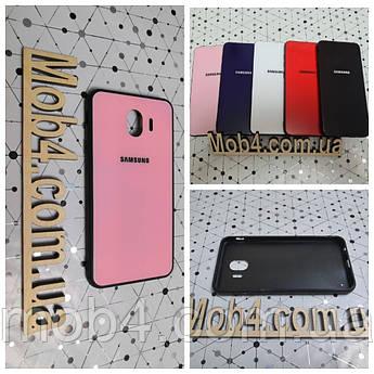 Чохол Скло Бренд (обід силіконовий) для Samsung Galaxy (Самсунг Гелексі) J4