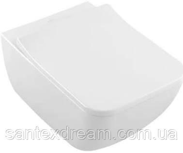 Унитаз подвесной VILLEROY&BOCH Venticello 4611RL01 DirectFlush с сиденьем Soft Close